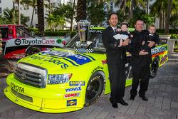 NASCAR Camping World Truck Series champion driver Matt Crafton