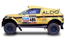 Презентация ALDO Racing Dakar, презентация.