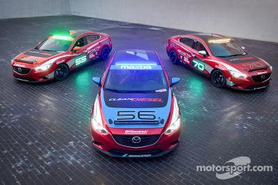 Mazda exibe inscritos para as 25 Horas de Thunderhill