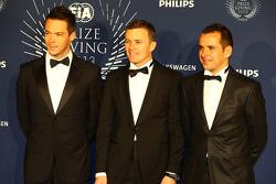 (Da esquerda para direita): Andre Lotterer, Marcel Fässler, Benoit Tréluyer, Audi Sport Team Joest