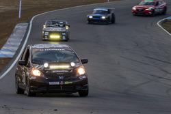 #12 HPD Race Club Honda Fit: Thomas Grosart, Aaron Hale, Brian Johnston, Robin Laqui, Tom Reichenbach