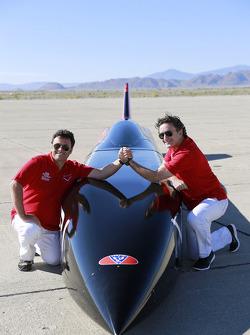 Gildo Pastor and Alejandro Agag, CEO of Formula E