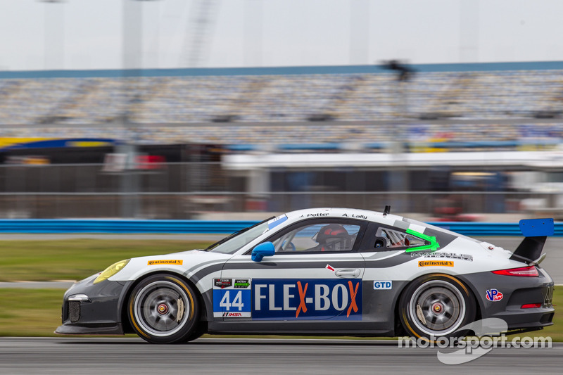 #44 Magnus Racing 保时捷 911 GT America 保时捷: 约翰·波特, 安迪·拉利