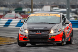 #74 Compass360 Racing Honda Civic Si: Ryan Eversley, Benoit Theetge, Donald Theetge