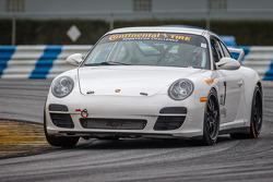 #7 Rebel Rock Racing Porsche 997: Al Carter, Brett Sandberg