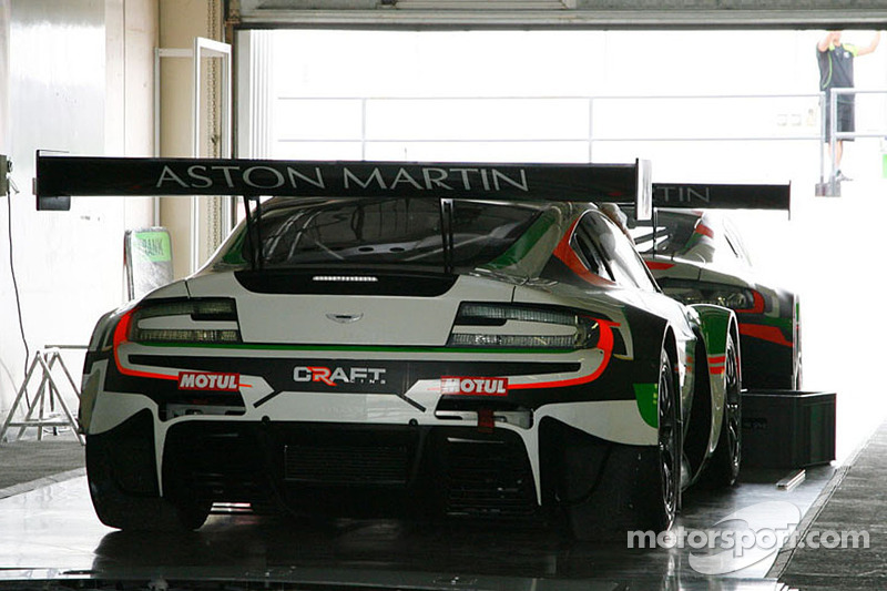 #17 Craft Racing AMR Aston Martin Vantage GT3: Frank Yu, Richard Lyons, Jean-Marc Merlin, Keita Sawa