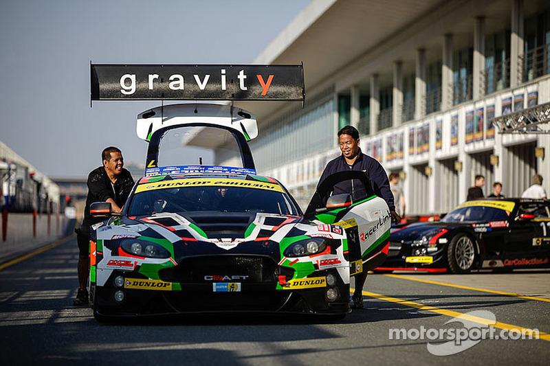 #7 Craft Racing AMR 阿斯顿马丁 Vantage GT3: 斯蒂芬·穆克, 达伦·特纳, 藤井诚畅, 欧阳若曦, 余啸峰