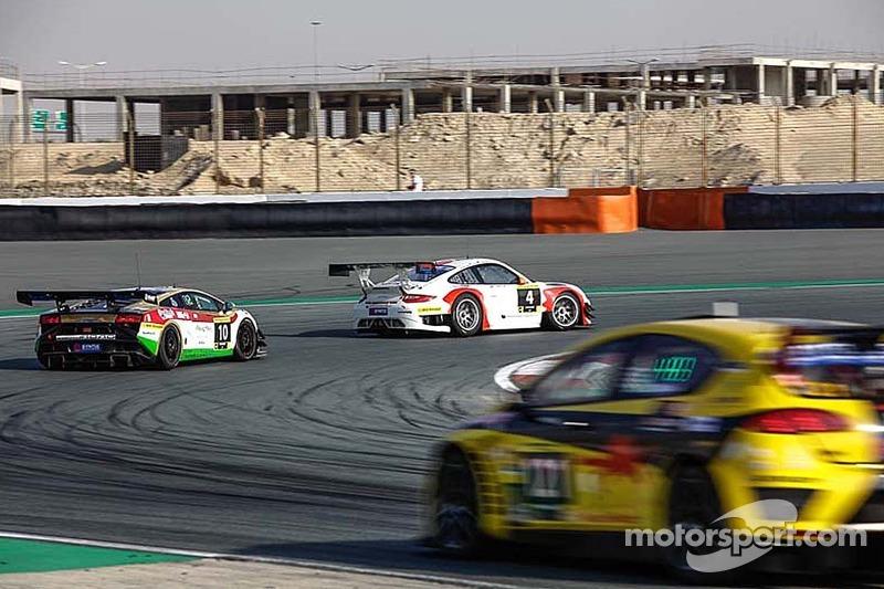 #4 Fach Auto Tech Porsche 997 GT3 R: Otto Klohs, Martin Ragginger, Sebastien Asch, Connor de Phillip