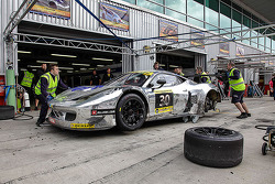 #30 Ram Racing Ferrari 458 İtalya GT3: Johnny Mowlem, Matt Griffin, Jan Magnussen, Cheerag Arya