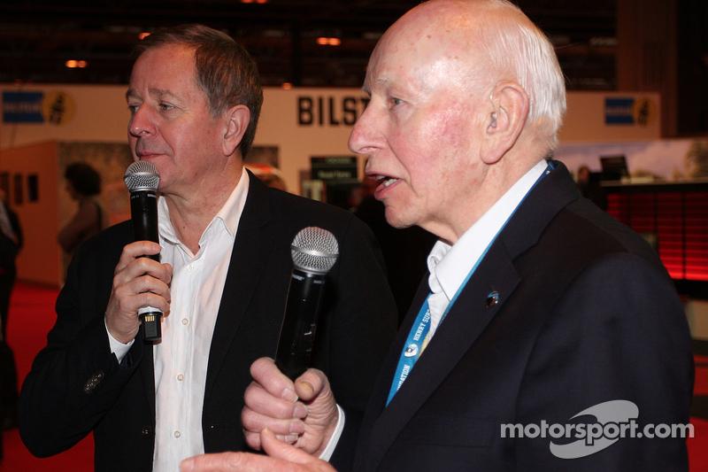 John Surtees e Martin Brundle
