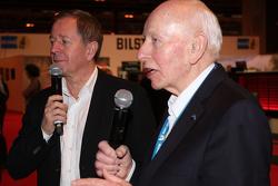 John Surtees and Martin Brundle