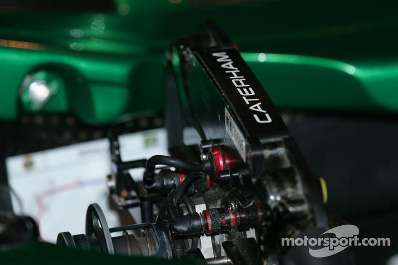 Caterham F1 detayı