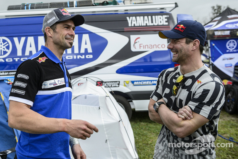 Cyril Despres ve Sébastien Loeb
