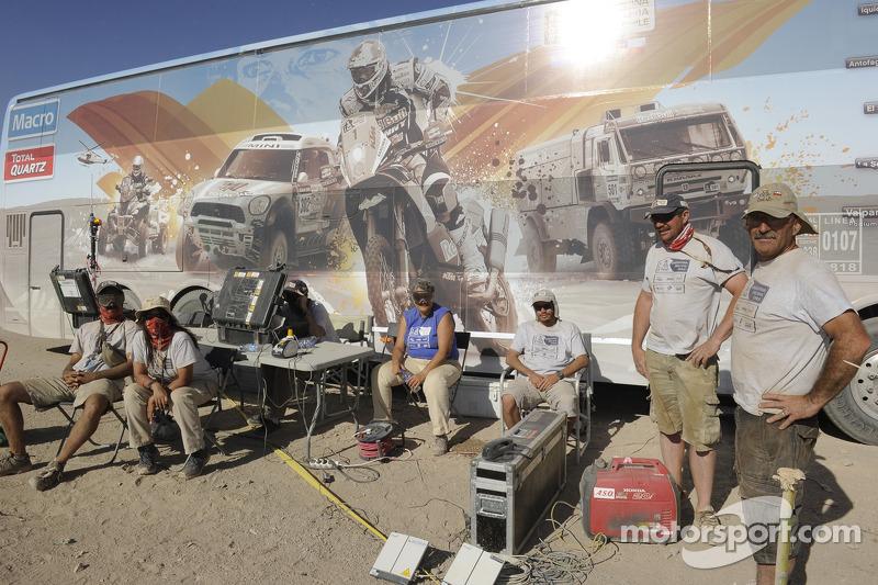 Dakar ekibi