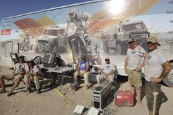 Dakar crew