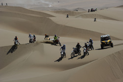 Riders on the dunes