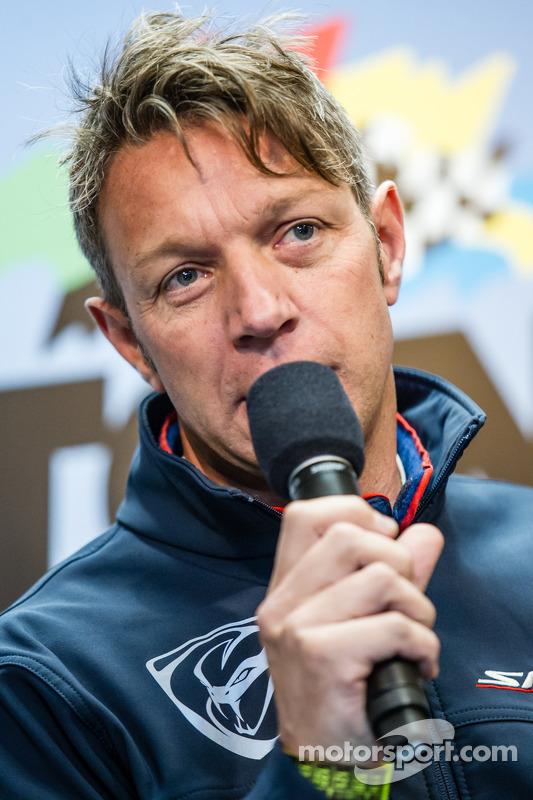 SRT Motorsports conferência de imprensa: Marc Goossens