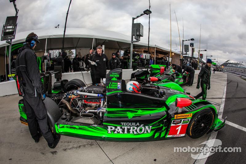 #1 Extreme Speed Motorsports HPD ARX-03b 本田: 斯科特·夏普, 瑞恩·迪埃尔, 大卫·布拉汉姆