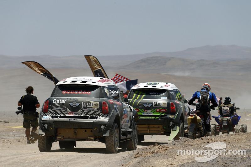 #300 Mini: 斯蒂芬·彼得汉塞尔, 让-保罗·科特雷 和 #301 Mini: 纳瑟尔·阿尔阿提亚, 卢卡斯·克鲁兹