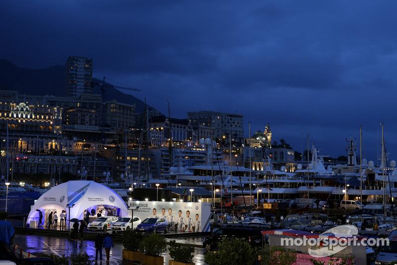 Vista general del Puerto de Mónaco
