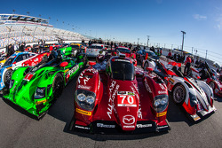 #70 SpeedSource Mazda Mazda