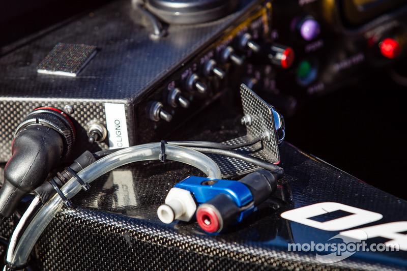 #42 OAK Racing 摩根 日产 座舱 细节