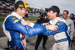P class and overall winners Sébastien Bourdais and Christian Fittipaldi celebrate
