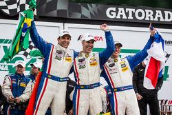 1. Christian Fittipaldi, Joao Barbosa and Sébastien Bourdais