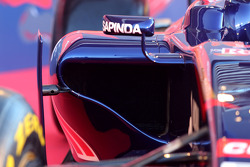 The new Scuderia Toro Rosso STR9 is unveiled, sidepod