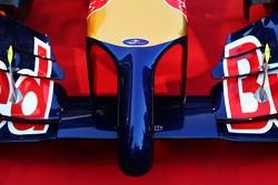 The Scuderia Toro Rosso STR9 nosecone