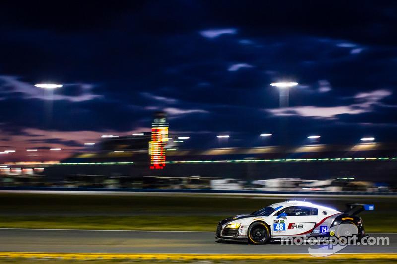 #48 Paul Miller Racing 奥迪 R8 LMS: 布赖斯·米勒, 马特·贝尔, 雷内·拉斯特, 克里斯托弗·哈斯