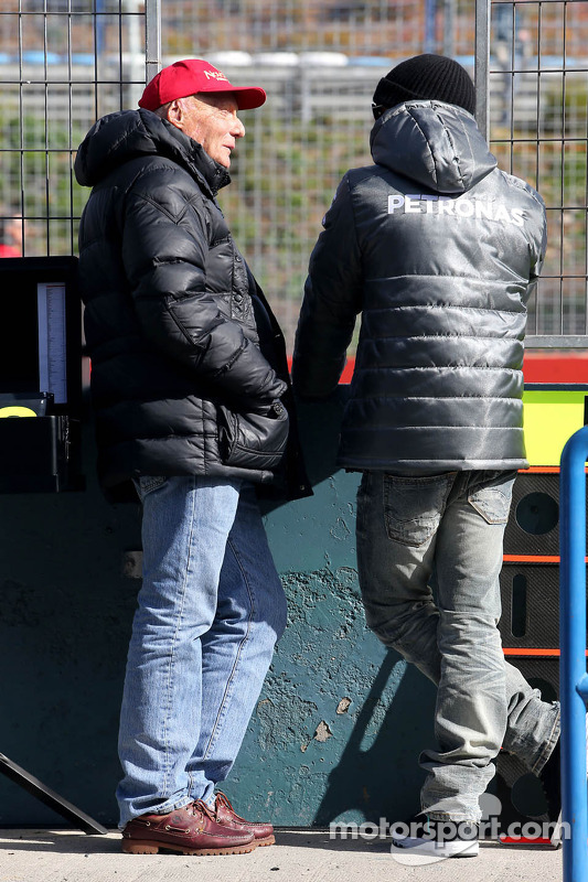 Niki Lauda, Mercedes AMG F1 Team