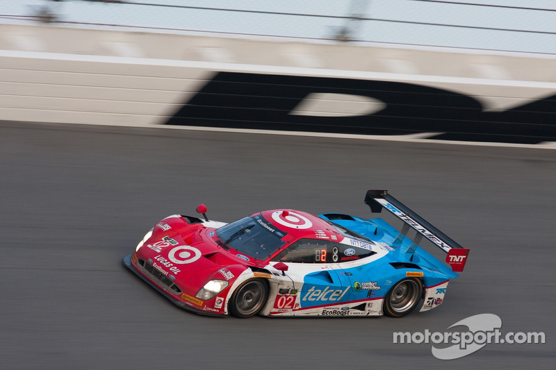 #02 Chip Ganassi Racing Riley DP Ford EcoBoost: Tony Kanaan, Kyle Larson, Marino Franchitti, Scott D