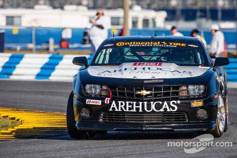 #18 AREHUCAS Rum Racing 科迈罗 GS.R: 贾森·蒙哥马利, 斯蒂文·塔普利