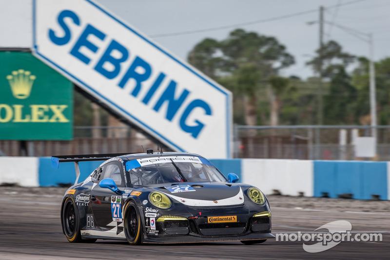 #27 邓普希 Racing 保时捷 911 GT America: 乔·福斯特, 安德鲁·戴维斯