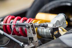 #42 OAK Racing Morgan Nissan suspension detail
