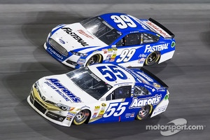 Brian Vickers and Carl Edwards