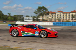 #51 Spirit of Race Ferrari 458 Italia: Matt Griffin, Jack Gerber