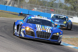 #46 Fall-Line Motorsports Audi R8 LMS: Charles Putnam, Charles Espenlaub, Christopher Mies
