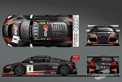 Belgian Audi Club WRT livery unveil
