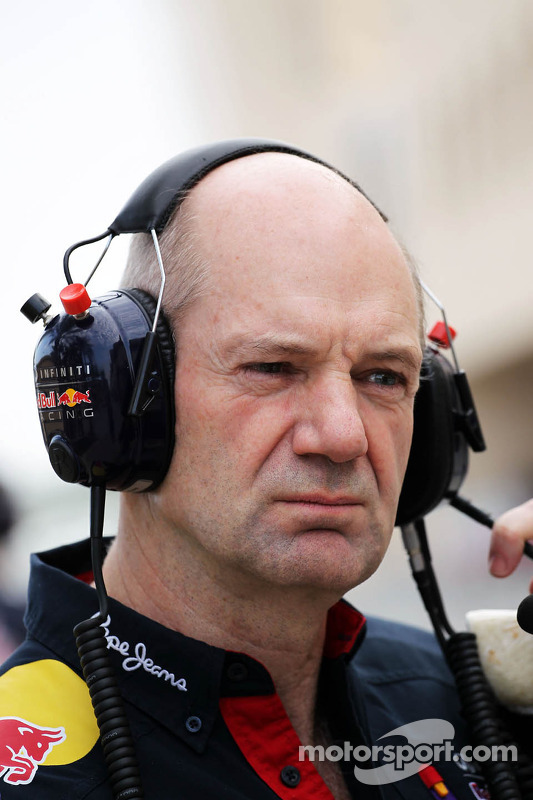 Adrian Newey, Red Bull Racing, Chefdesigner