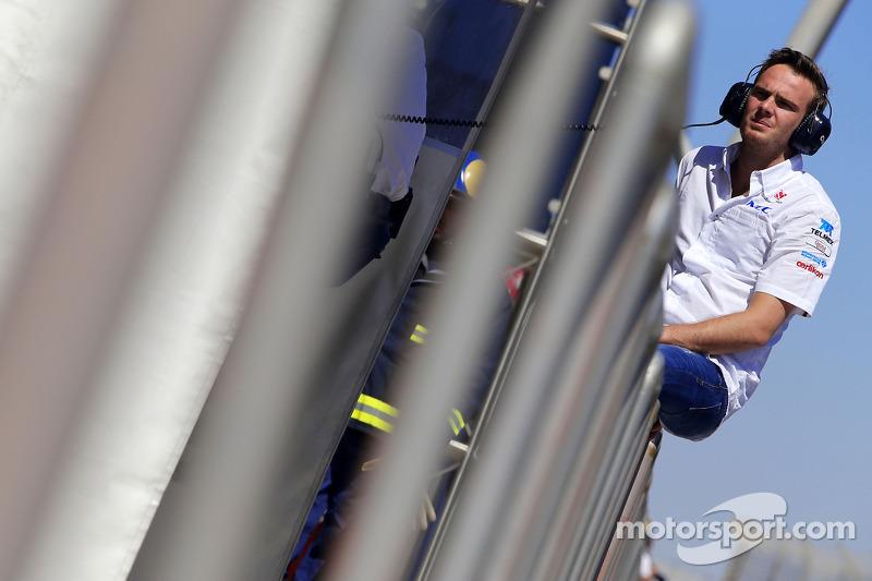 Giedo van der Garde, terzo pilota, Sauber F1 Team