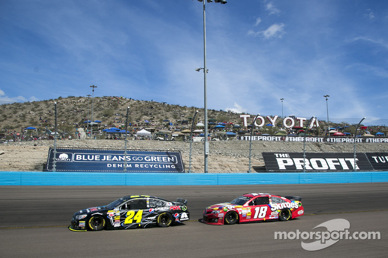 Jeff Gordon e Kyle Busch