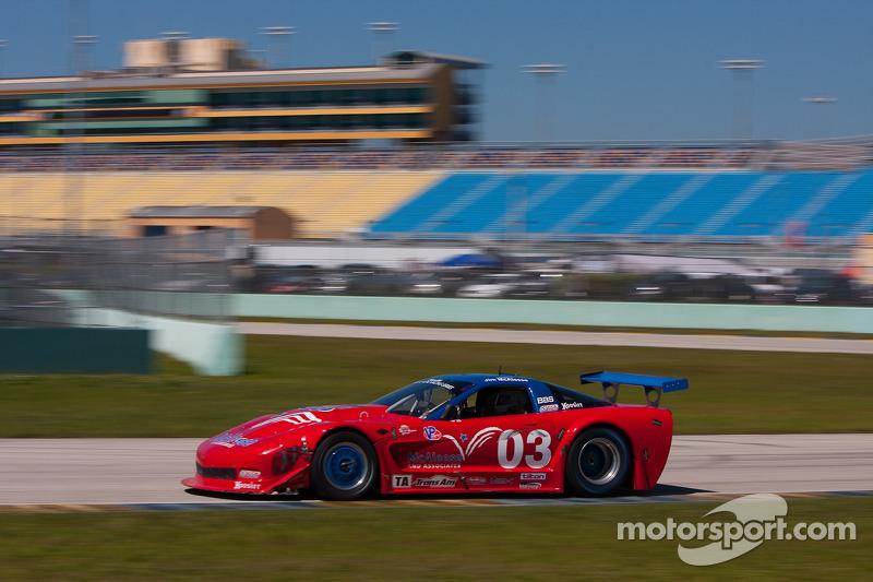 #03 McAleese Motorsports/Jetco Engineering 雪佛兰 雪佛兰克尔维特: 吉姆·麦卡利斯