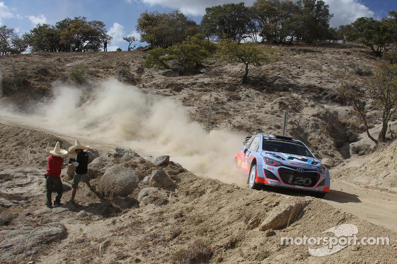 Chris Atkinson ve Stéphane Prévot, Hyundai i20 WRC, Hyundai Motorsport