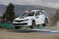 Gianluca Linari and Nicola Arena, Subaru Impreza