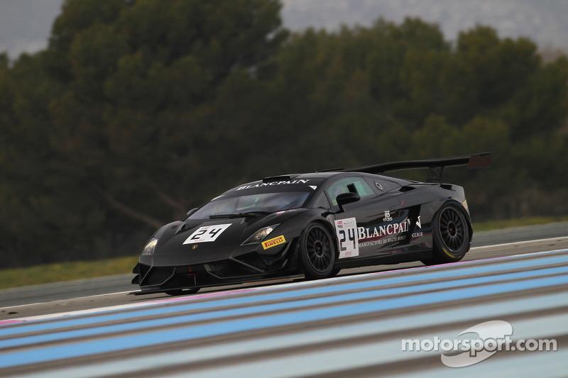 #24 Blancpain Racing 兰博基尼 FLII