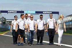 Valtteri Bottas, Williams cammina nel circuito