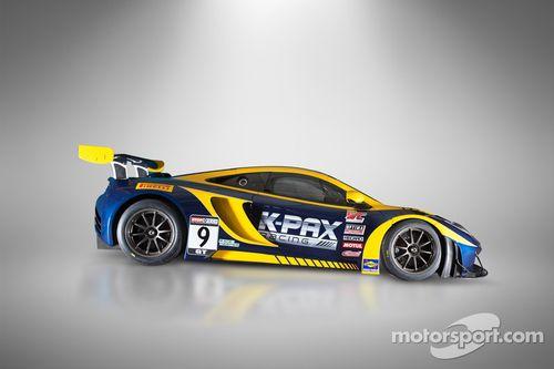 K-PAX Racing revela o McLaren 12C GT3