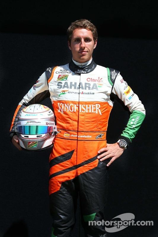Daniel Juncadella, piloto reserva da Sahara Force India F1 Team